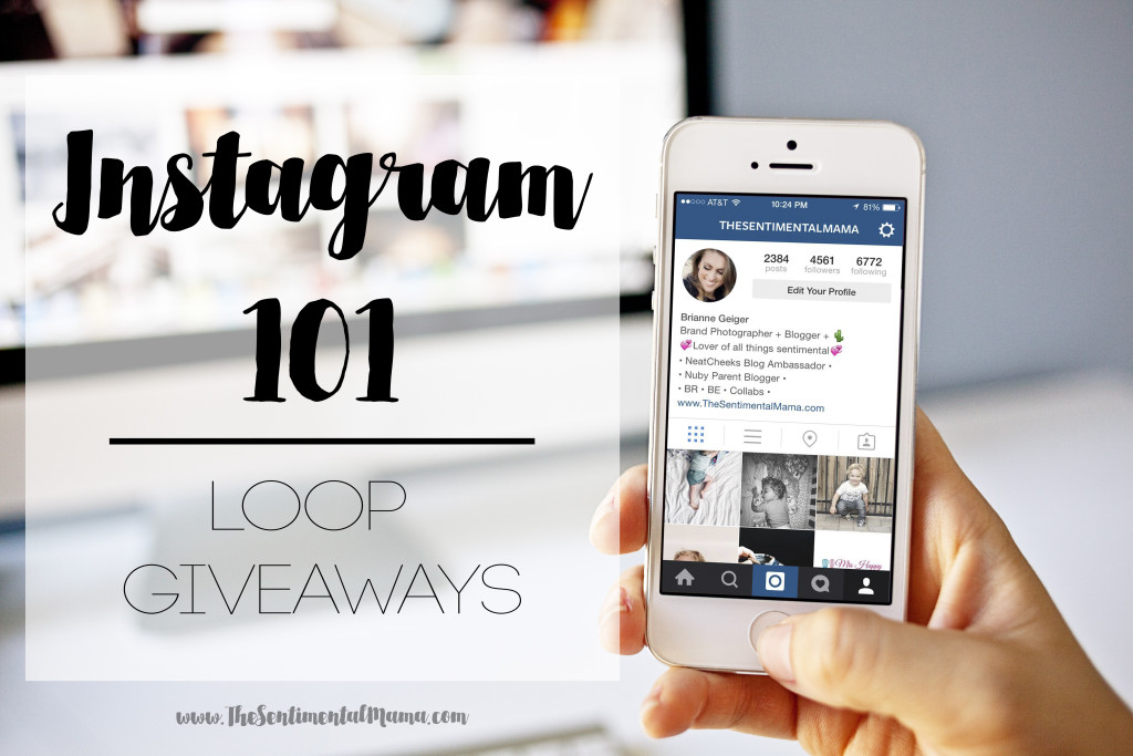 how to host a loop giveaway on instagram